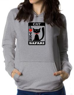 Cat Lover - Safari Women Hoodie