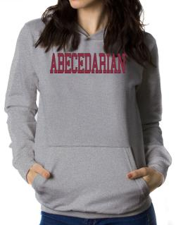 Abecedarian - Simple Athletic Women Hoodie