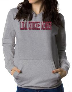 Local Churches Member - Simple Athletic Women Hoodie