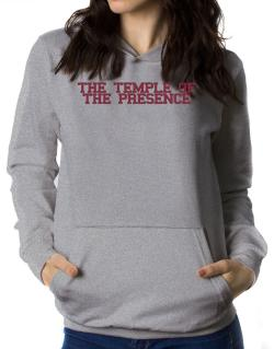 The Temple Of The Presence - Simple Athletic Women Hoodie