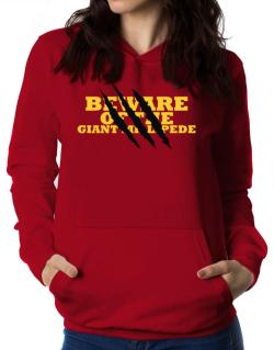 Beware Of The Giant Millipede Women Hoodie