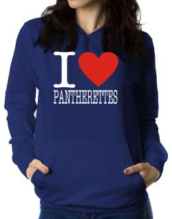 I Love Pantherettes Women Hoodie