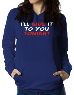 Polera Con Capucha de I´ll Give It To You Tonight
