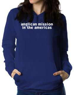 """ Anglican Mission In The Americas word "" Women Hoodie"