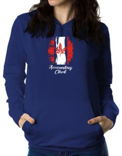 Accounting Clerk - Canada  Women Hoodie