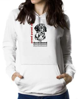 Proud Parent Of A Dachshund Women Hoodie