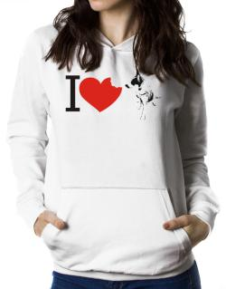 I love Australian Cattle Dogs Women Hoodie