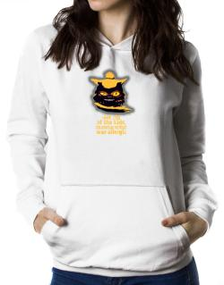 Got Rid Of The Kids, The American Wirehair Was Allergic Women Hoodie