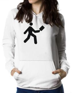 Pickleball Stickman Women Hoodie