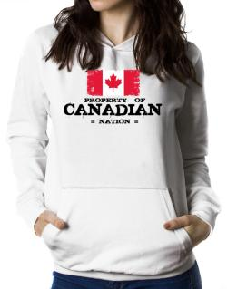 Property of Canadian Nation Women Hoodie