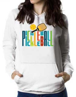 Pickleball fan Women Hoodie