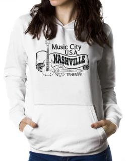 Music city Usa Nashville Tennessee Women Hoodie