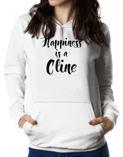 Happiness is a Cline Women Hoodie