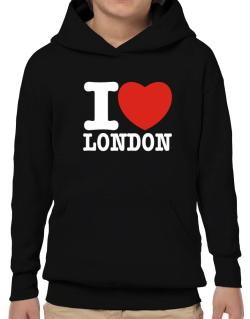 I Love London Hoodie-Boys