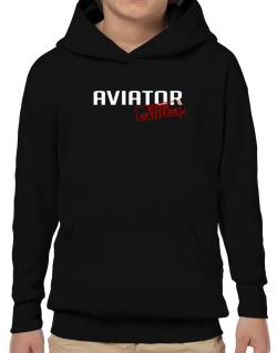 Aviator With Attitude Hoodie-Boys