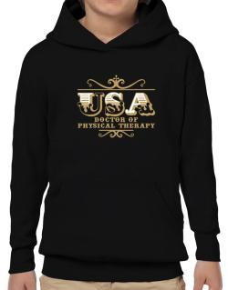 Usa Doctor Of Physical Therapy Hoodie-Boys