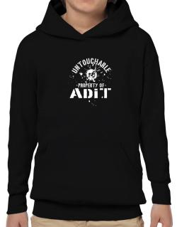 Untouchable : Property Of Adit Hoodie-Boys