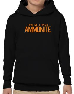 Love Me, I Speak Ammonite Hoodie-Boys