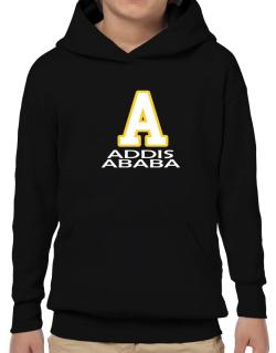 """ Addis Ababa - Initial "" Hoodie-Boys"