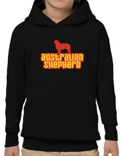 Breed Color Australian Shepherd Hoodie-Boys