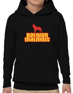 Breed Color Belgian Malinois Hoodie-Boys