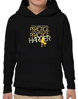 PRACTICE HARDER Pickleball  Hoodie-Boys