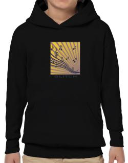 Glitch - Musical Notes Hoodie-Boys