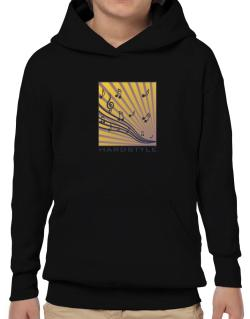 Hardstyle - Musical Notes Hoodie-Boys
