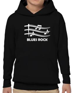 Blues Rock - Musical Notes Hoodie-Boys
