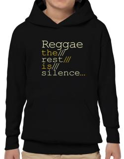 Poleras Con Capucha de Reggae The Rest Is Silence...