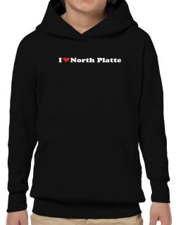 I Love North Platte Hoodie-Boys