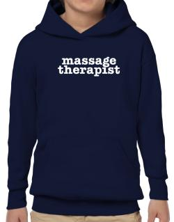 Massage Therapist Hoodie-Boys