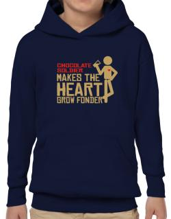 Chocolate Soldier Makes The Heart Grow Fonder Hoodie-Boys