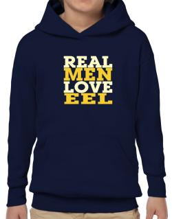 Real Men Love Eel Hoodie-Boys