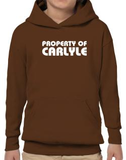 """ Property of Carlyle "" Hoodie-Boys"