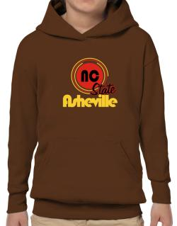 Asheville - State Hoodie-Boys