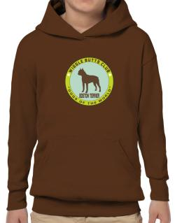 Boston Terrier - Wiggle Butts Club Hoodie-Boys