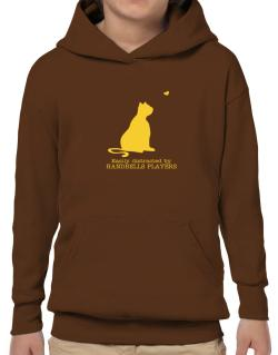 Easily Distracted By Handbells Players Hoodie-Boys