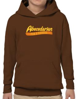 Abecedarian For A Reason Hoodie-Boys