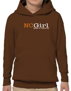 Girl Made In Asheville Hoodie-Boys