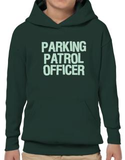 Parking Patrol Officer Hoodie-Boys