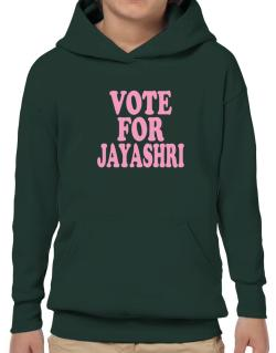 Vote For Jayashri Hoodie-Boys