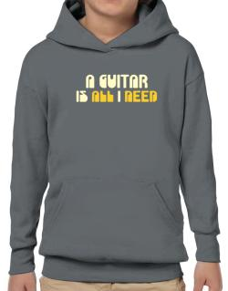 A Guitar Is All I Need Hoodie-Boys