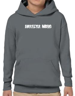Freestyle Music - Simple Hoodie-Boys