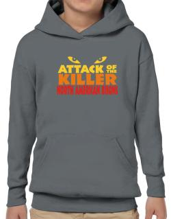 Attack Of The Killer North American Bisons Hoodie-Boys