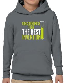 Subcontrabass Tuba The Best Invention Hoodie-Boys