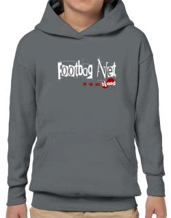 Footbag Net Is In My Blood Hoodie-Boys