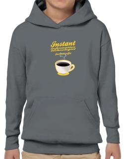 Instant Information Technologist, just add coffee Hoodie-Boys
