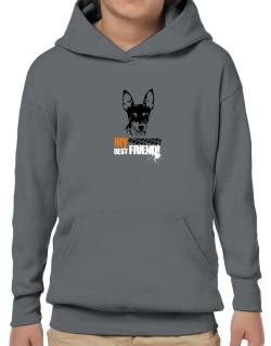 """ Fox Terrier MY BEST FRIEND - URBAN STYLE "" Hoodie-Boys"