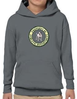 """ PROPERTY OF American Bulldog ATHLETIC DEPARTMENT TRANSFER "" Hoodie-Boys"